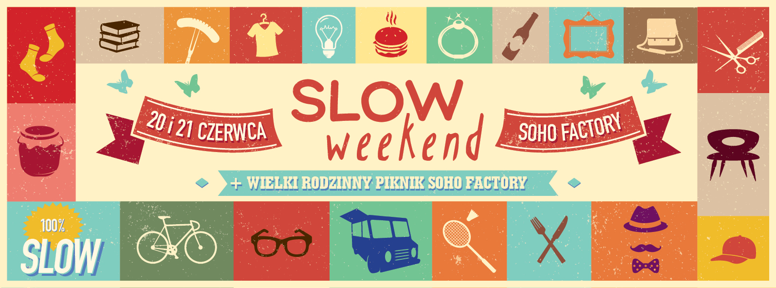 SLOW WEEKEND - cover poster facebook